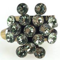 Magic Fireball 16 Stein Ring in chrysolite, hellgrün