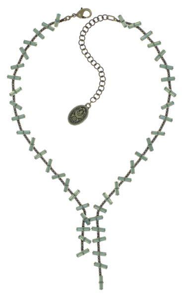Konplott Jumping Baguette Halskette Opal Green 5450543812977