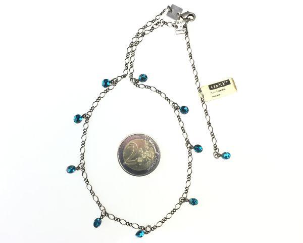 Konplott Tutui indicolite Halskette steinbesetzt, blau 5450527641319