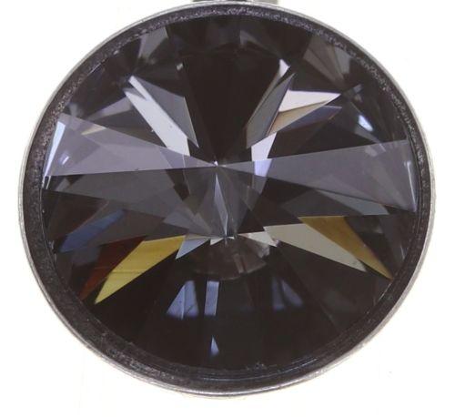 Konplott Rivoli Ohrhänger in grau crystal night fall 5450543783086