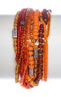 Vorschau: Konplott Petit Glamour d'Afrique Armband in orange antique 5450543865164