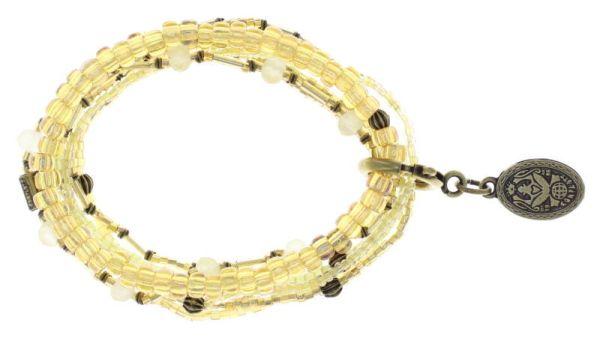 Konplott Petit Glamour d'Afrique Armband in beige antique 5450543780085