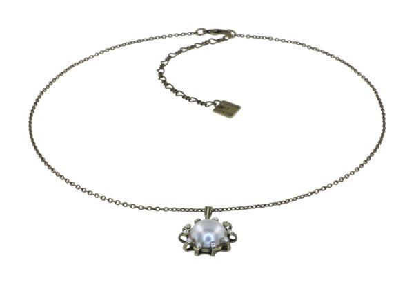 Konplott Halskette in weiß M - Where the Lilac Bloom 5450543896380