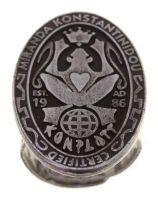 Konplott Konplott Logo Ring antique Silbern 5450543860930