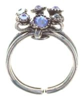 Konplott Alien Caviar Ring Blue Water in blau 5450543895710