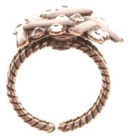 Vorschau: Konplott Graphic Flow Ring pink/rosa antique 5450543866093