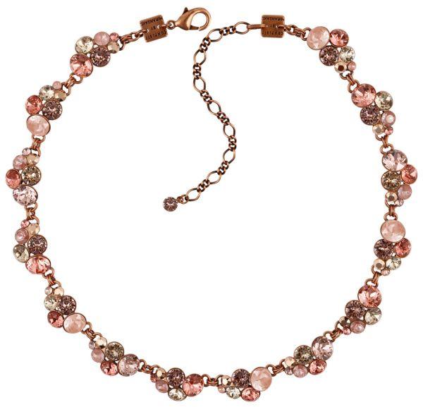 Konplott Petit Glamour steinbesetzte Halskette in pink 5450543766454
