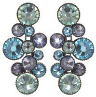 Vorschau: Konplott Water Cascade Ohrhänger in Minty Fresh blau/grün 5450543907239