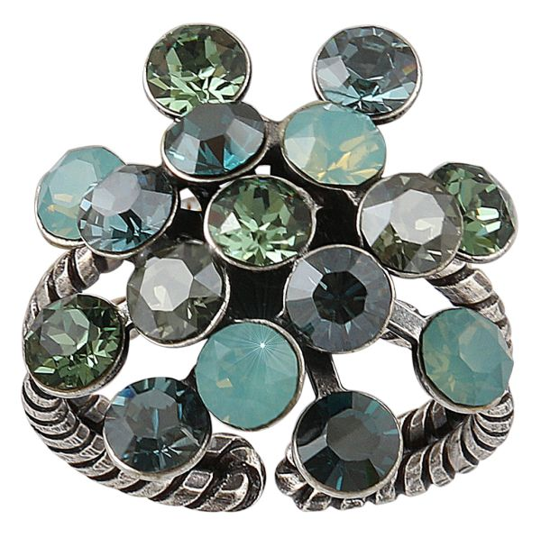 Konplott Magic Fireball Ring in grün 5450543765969