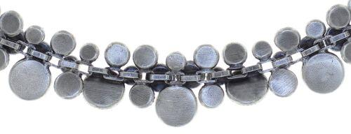 Konplott Water Cascade steinbesetzte Halskette in lila 5450543753942