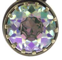 Vorschau: Konplott Boho Twist Halskette in grün/lila crystal paradise shine 5450543772035