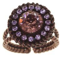 Vorschau: Konplott Rock 'n' Glam Ring in lila light amethyst 5450543776941