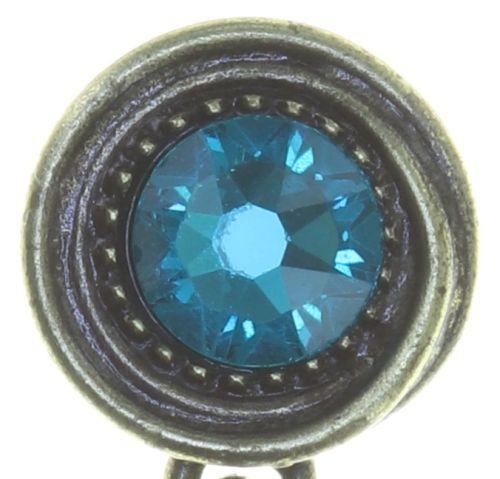 Konplott Amazonia Ohrhänger in blau/grün, Größe M 5450543750989