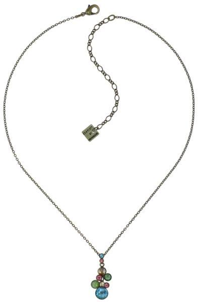 Konplott Water Cascade Halskette in Alicia's Rococo multi 5450543907727