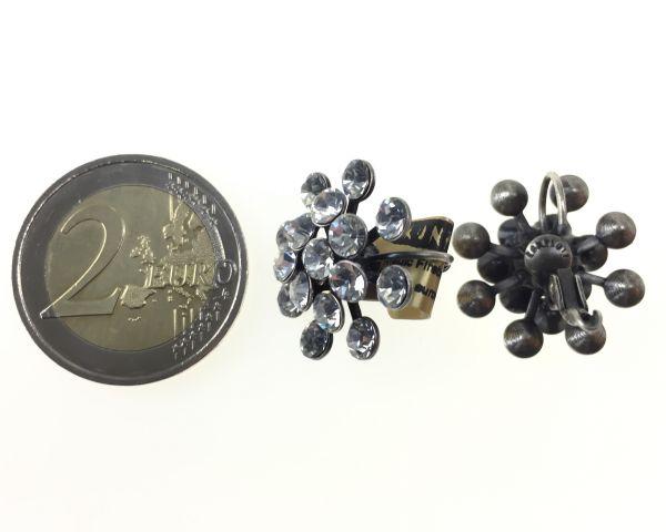 Konplott Magic Fireball Ohrhänger mit Klappverschluss in crystal 5450527611633