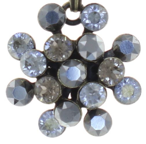 Konplott Magic Fireball Halskette mit Anhänger mini in grau 5450543754833