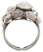 Konplott Petit Glamour Ring Stone White 5450543880808