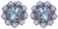 Vorschau: Konplott Kaleidoscope Illusion Ohrstecker in grau 5450543761824