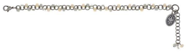 Konplott Massai Goes Fishing Armband domino weiß 5450543853529