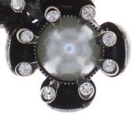Vorschau: Konplott Petit Fleur de Bloom Halskette mit Anhänger in dragonfly grau 5450543793924
