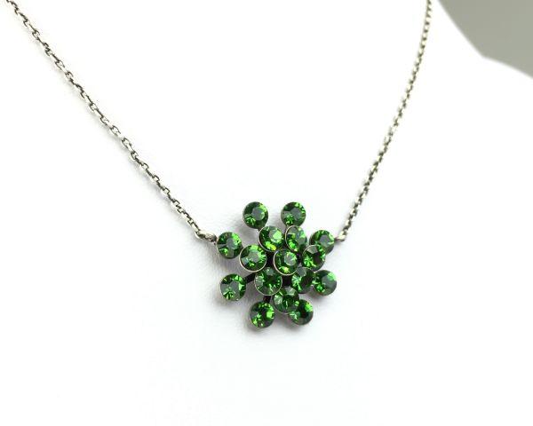 Konplott Magic Fireball Halskette mit Anhänger in Farn grün 5450527778251