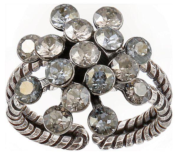 Magic Fireball Ring mini in weiß