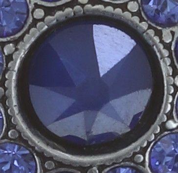 Konplott Spell on You Ohrstecker in blau Silberfarben 5450543734934