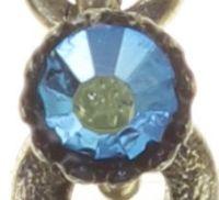 Vorschau: Konplott Dancing Star Ohrhänger in blau Größe XS 5450543774008