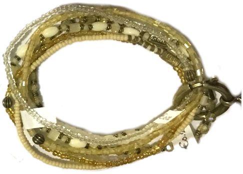 Konplott Petit Glamour d'Afrique Armband in gelb 5450543786353