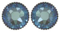 Vorschau: Konplott Black Jack Ohrstecker groß in blau crystal army grün 5450543768786