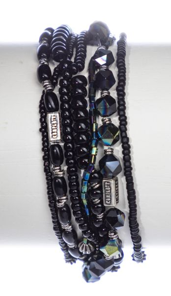 Konplott Petit Glamour d'Afrique Armband in schwarz 5450543896786
