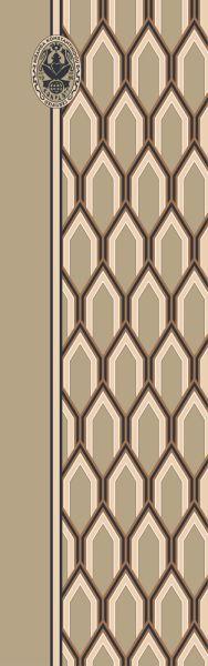 Konplott Schal Geometrisch 13 in beige 5450543807010