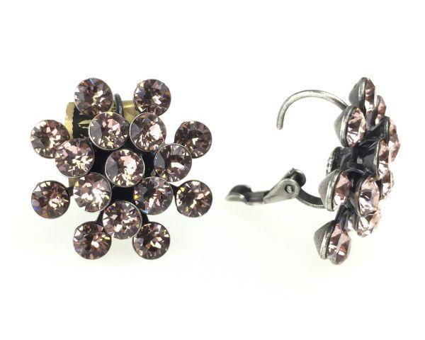 Konplott Magic Fireball Ohrhänger mit Klappverschluss in vintage rose 5450527611954