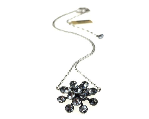 Konplott Magic Fireball Halskette mit Anhänger in crystal silver night 5450527767088