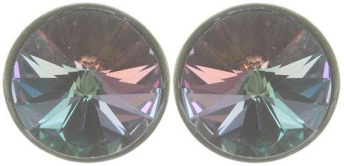 Konplott Rivoli Ohrstecker in grün colorado topaz vitrail light 5450543783444
