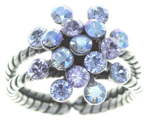 Konplott Magic Fireball Ring Mini in lila forget me not 5450543797519