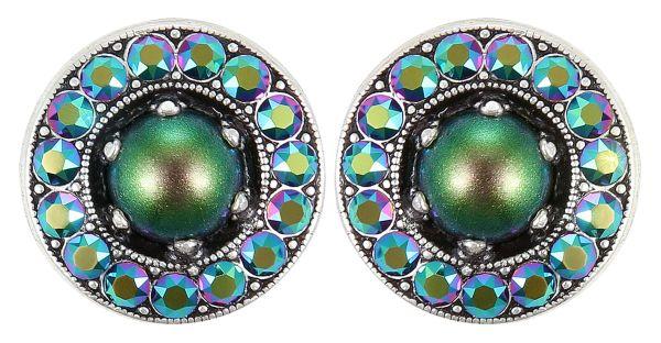 Konplott Simply Beautiful Ohrstecker in grün 5450543779980