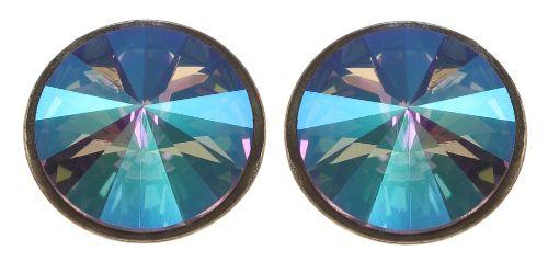 Konplott Rivoli Ohrstecker in lila crystal paradise 5450543783789