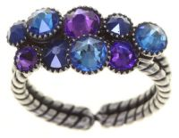 Konplott Water Cascade Ring Blue Bayou 5450543881577