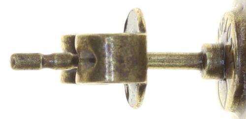Konplott Striptease Ohrhänger in schwarz/weiß Größe M 5450543780139