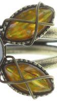Vorschau: Konplott Psychodahlia Ring in gelb Messing 5450543734088