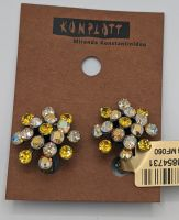 Konplott Magic Fireball Ohrclip Mini in golden gelb 5450543854731