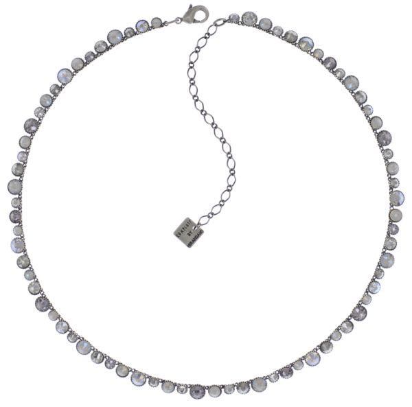Konplott Water Cascade steinbesetzte Halskette in weiß 5450543773001