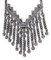 Vorschau: Konplott Graphic Flow Halskette in weiß antique 5450543867373