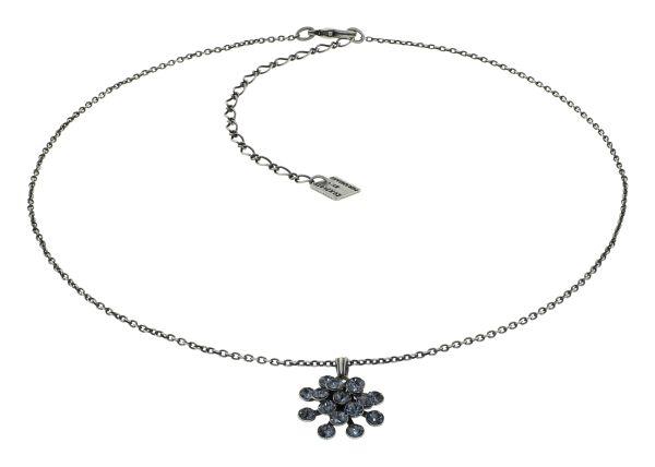 Konplott Magic Fireball Halskette Graphite Grey in mini 5450543936673