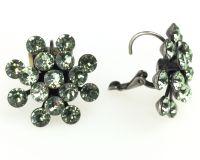 Vorschau: Konplott Magic Fireball Ohrhänger mit Klappverschluss in chrysolite, hellgrün 5450527612111