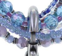 Vorschau: Konplott Petit Glamour d'Afrique Armband in blau/lila 5450543722368