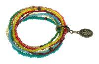 Vorschau: Konplott Petit Glamour d'Afrique Armband in pastel multi 5450543913940