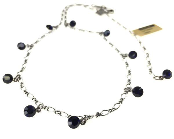 Konplott Tutui dark indigo Halskette steinbesetzt 5450527612494