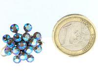 Vorschau: Konplott Magic Fireball grau diamond shimmer Ring 5450543631356